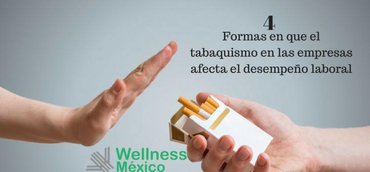 ¿Cómo el tabaquismo en las empresas afecta el desempeño laboral?