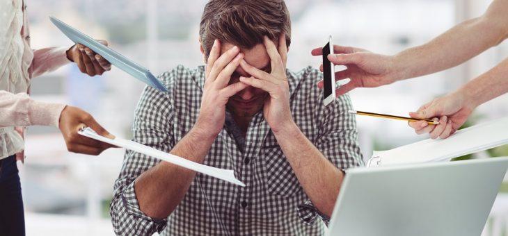 Consejos para disminuir el estrés en el trabajo
